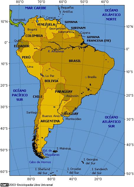 Amrica del Sur Artculo de la Enciclopedia