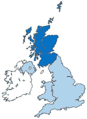 Escocia Mapa Reino Unido.Escocia Reino Unido Articulo De La Enciclopedia
