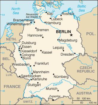 Republica Democratica Alemana Mapa.Alemania Articulo De La Enciclopedia