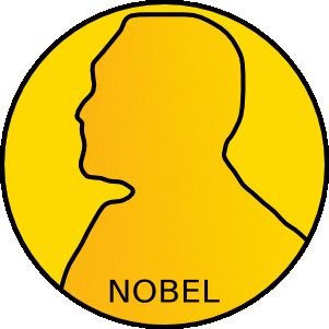 Medalla de los premios Nobel