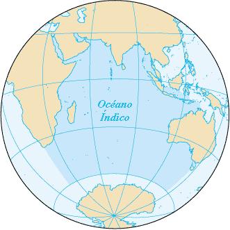 Resultado de imagen para oceanos indico