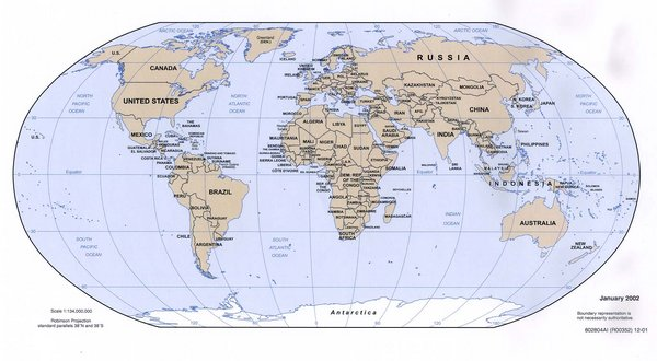 Imagen de mapa mundi - Imagui