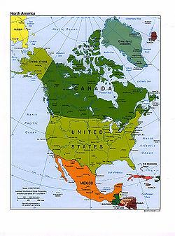 América Del Norte Artículo De La Enciclopedia