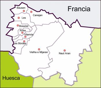 Turistico Valle De Aran Mapa.Valle De Aran Articulo De La Enciclopedia